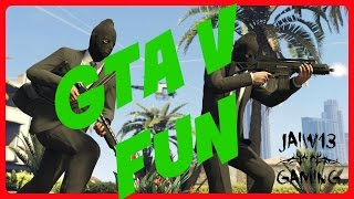 GTA V Heist Collaboration with TomLFCHeaven Part 3 - THE PRISON BREAK!!!!