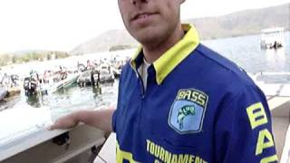 21, ESPN Bassmaster Elite $100,000.00  Exclusive Pre-Broadcast Footage, 2009