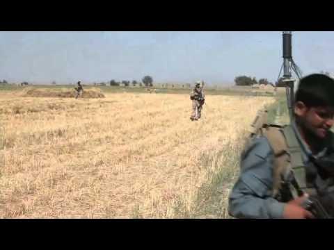 Marines With 3rd Battalion, 8th Marine Regiment On Patrol In Garmsir District, Helmand, Afghanistan