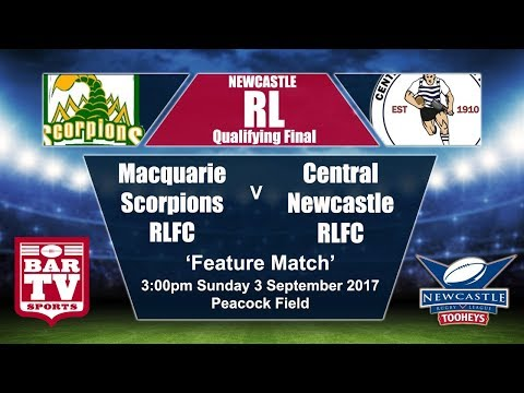 2017 Newcastle RL Qualifying Final - Macquarie v Central