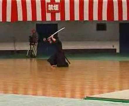 Demonstration of Katori Shinto-ryu Iaijutsu