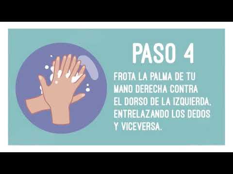 Campaña informativa OMS - Correcto lavado de manos