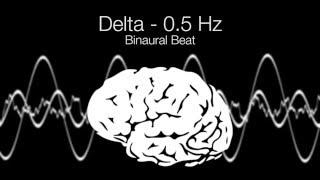 'Deep Relaxation' Delta Binaural Beat - 0.5Hz (1h Pure)
