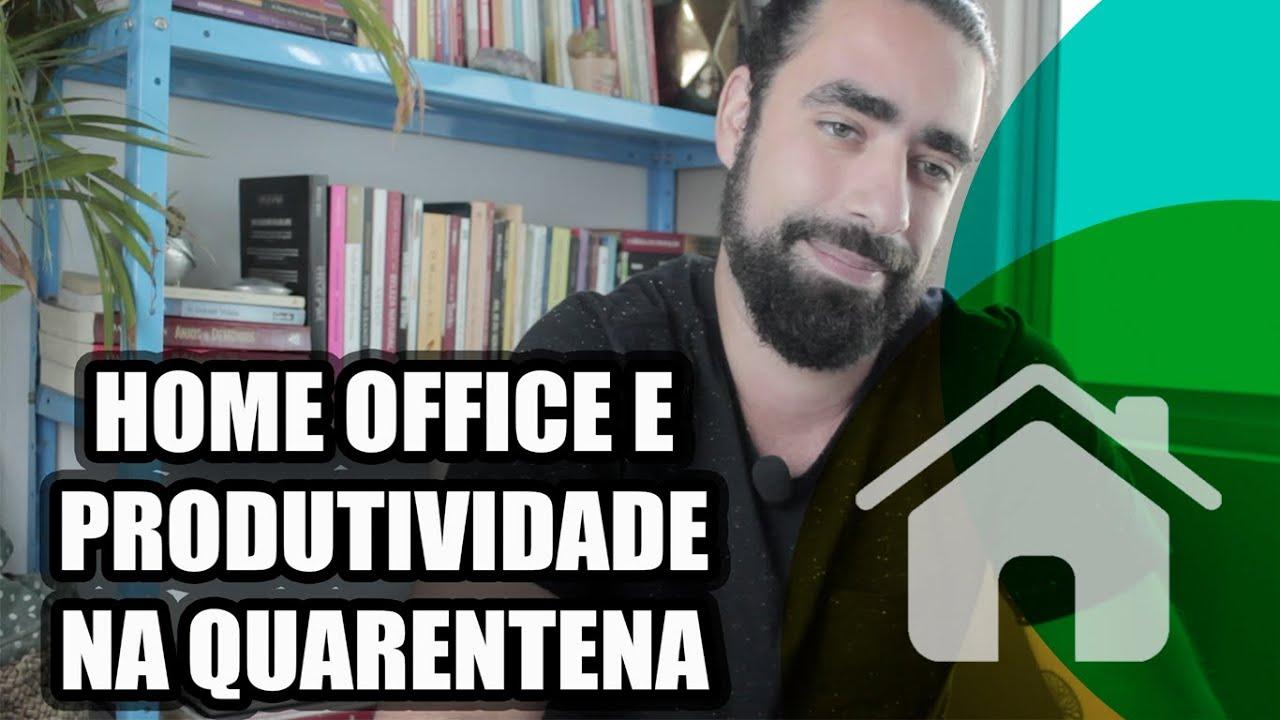 COMO SER PRODUTIVO NO HOME OFFICE | 06 DICAS PARA TRABALHAR EM CASA