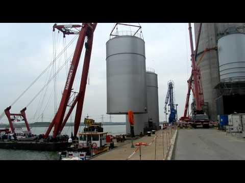 Lift Barge Maasvlakte Part III