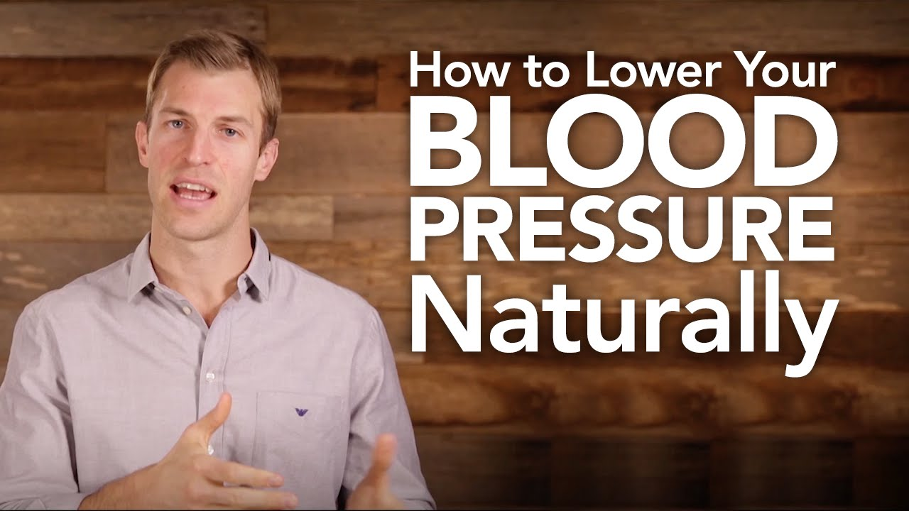 Ways To Bring Your Blood Pressure Down Naturally