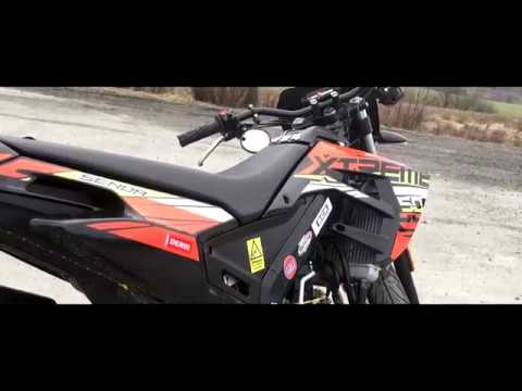 My Derbi senda xtreme 2018 tecnigas*Review | Test ride