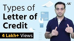 Types of Letter of Credit (LC) - Hindi
