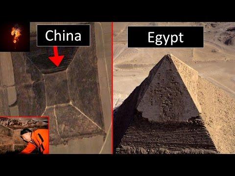 Ancient Alien Tech Hidden Under Chinese Pyramids?