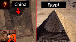 Ancient Alien Tech Hidden Under Chinese Pyramids?