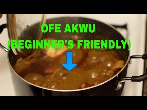 OFE AKWU (BANGA SOUP RECIPE):  EASY STEP BY STEP GUIDE FOR BEGINNERS (DETAILED, 2018)