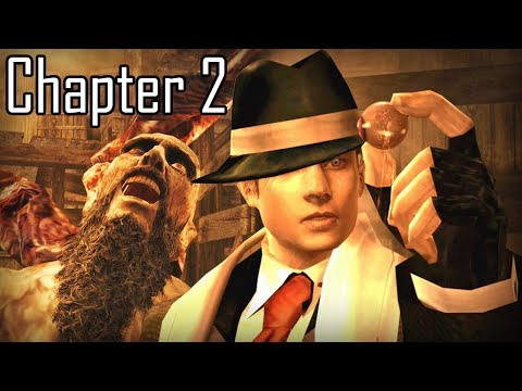 Leon GANGSTER/MAFIA nas Cutscenes - RESIDENT EVIL 4 Capítulo 2/5