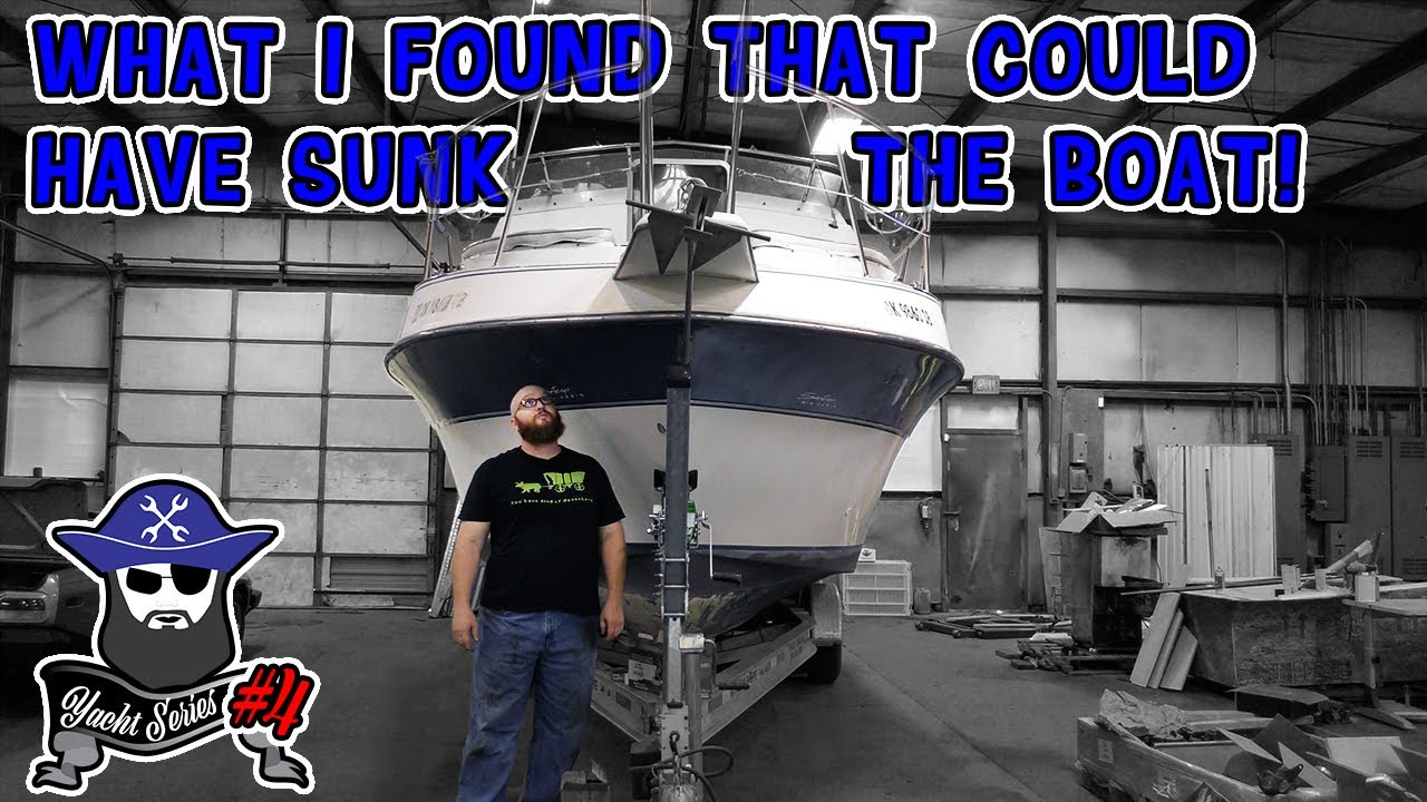"""""""What I found could have sunk the boat!"""" What major problem did the CAR WIZARD find? Yacht update #4"""