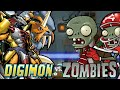 Digimon Vs Zombies - Digimon Flash Game