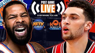 New York Knicks vs. Chicago Bulls Post Game Show: Highlights, Analysis & Caller Reactions 📞