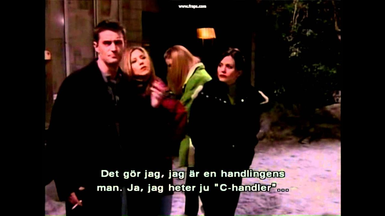chandlers last name on friends