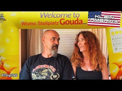 """Womo Stellplatz Gouda """"Klein Amerika"""" / Niederlande #Vlog022"""