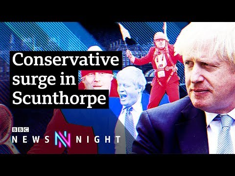 What does newly blue Scunthorpe want from Boris Johnson? - BBC Newsnight
