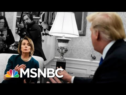 After Saying He Never Lost His Temper, Donald Trump Rages At 'Crazy Nancy' | The 11th Hour | MSNBC