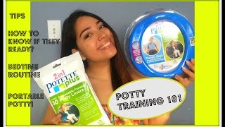 Potty Training  & 2in1 Potette Plus review