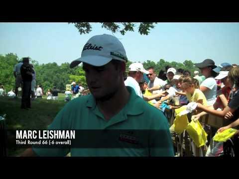 Memorial 2011: Marc Leishman Third Round Interview