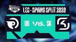 Origen vs SK Gaming | LEC Spring Split 2020, Woche 5, Tag 1 [GER]