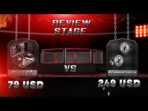 Review Stage  - Sennheiser Momentum vs iKonex X7