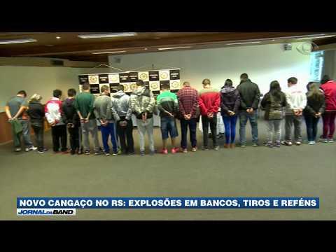 Novo Cangaço no RS: criminosos explodem bancos