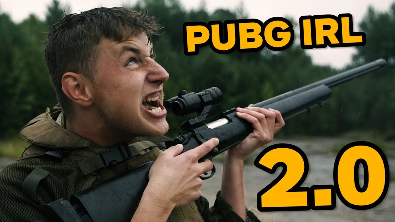 PUBG IN REAL LIFE 2.0