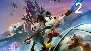 Disney Epic Mickey 2: The Power of Two - Walkthrough Part 2 [HD]