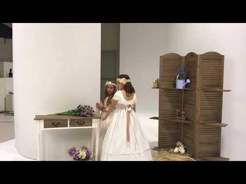 Vestidos de primera comunion en Murcia. Romantica Coleccion.