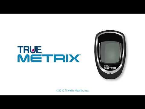 TRUE METRIX Self Monitoring Blood Glucose Meter - YouTube