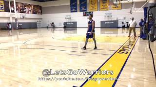 Steph Curry splashes 46-for-50 three-pointers after practice (previous 37-for-50 is in error)