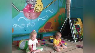 Летние развлечения детей в детском саду