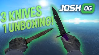 3 Knives In 1 Case Opening!