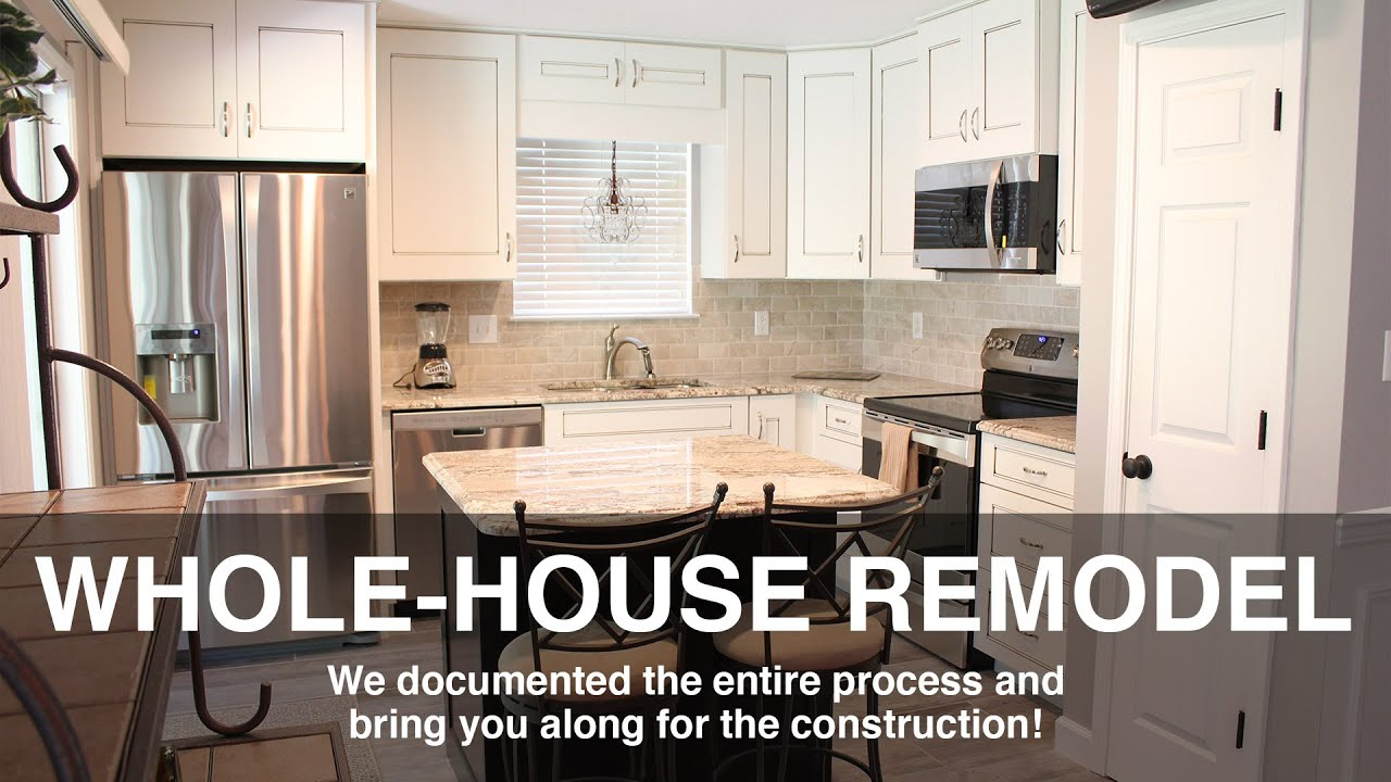 Whole house remodel before and after with tips for your for Complete kitchen remodel price