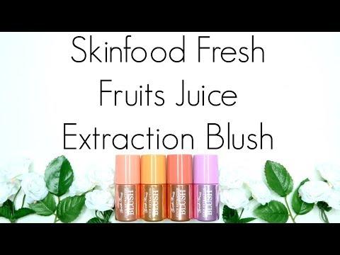 : Skinfood Fresh Fruits Juice Extraction Blush