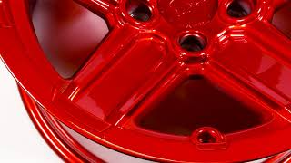 Black Rhino Wheels - Recon in Candy Red
