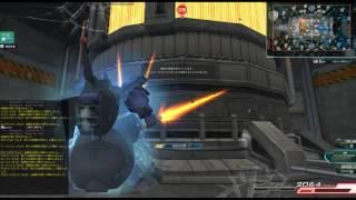 グリプス2の中央拠点をジオでテクニカルに殴る