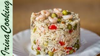 Как вкусно приготовить рис. Рассыпчатый рис с овощами на гарнир(Есть много способов вкусно приготовить рис. Предлагаю один из вариантов рассыпчатого риса, который можно..., 2015-03-27T09:58:30.000Z)