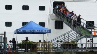 Suspect in custody after woman found dead on cruise ship