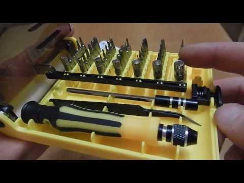45in1 Torx Precision Отвертка для ремонта сотовых телефонов