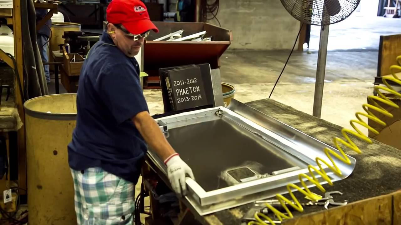 Tiffin Motorhomes: A Closer Look - Custom-Built Compartment Doors