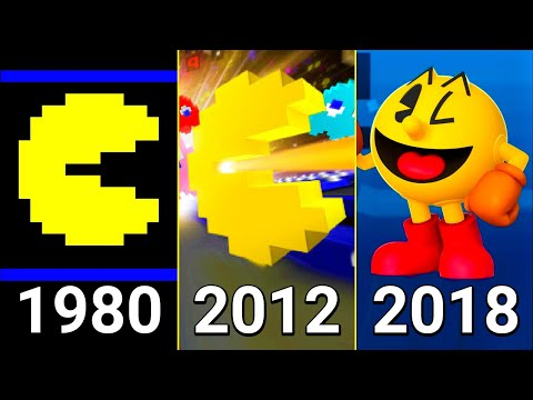 Evolution Of Pac-Man Games 1980-2018