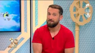 Dani Oțil, cel mai harnic din echipa de la Neatza: Cel mai mult îmi place să spăl vasele