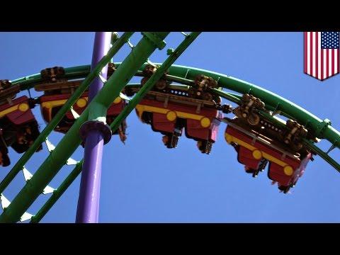 米国の遊園地で絶叫マシーンが空中停止! 乗客の運命は⁉︎