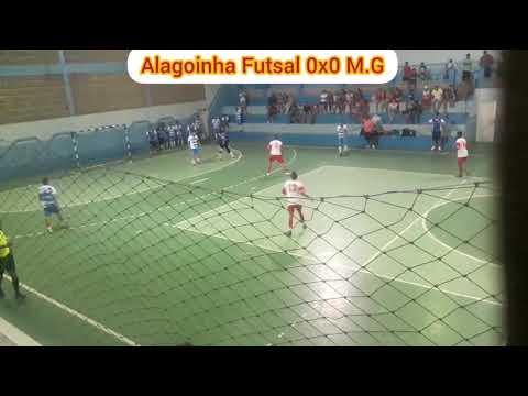 Alagoinha Futsal 2x2 M.G. 2° Tempo. Campeonato Regional Alagoinha.PE  de Futsal 2019.