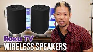 First Look: Roku TV Wireless Speakers