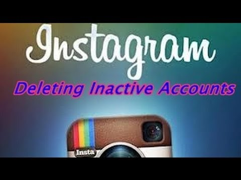 Oh no instagram didnt deleting inactive accounts youtube oh no instagram didnt deleting inactive accounts ccuart Image collections