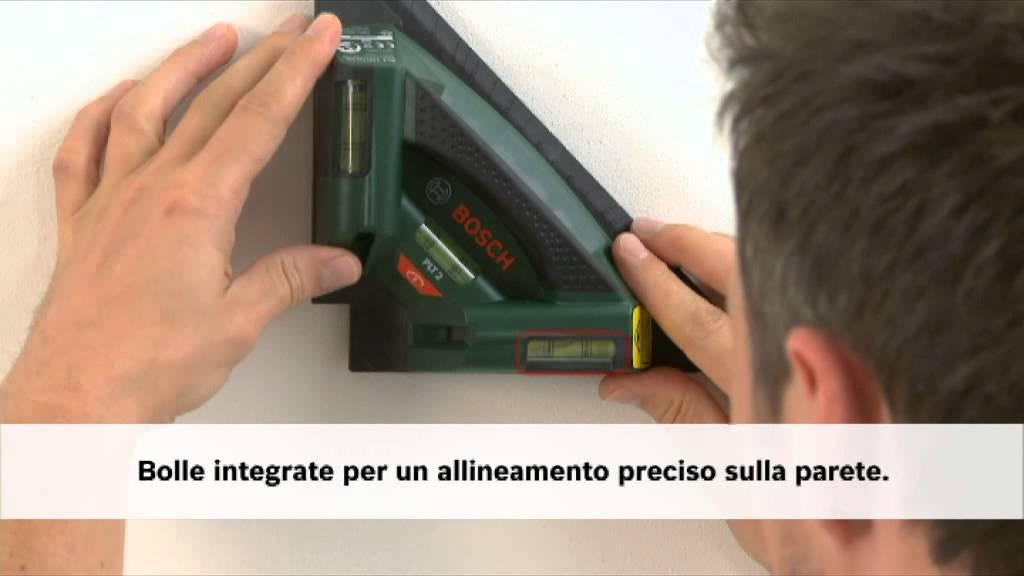 Livella laser per piastrelle ptl youtube